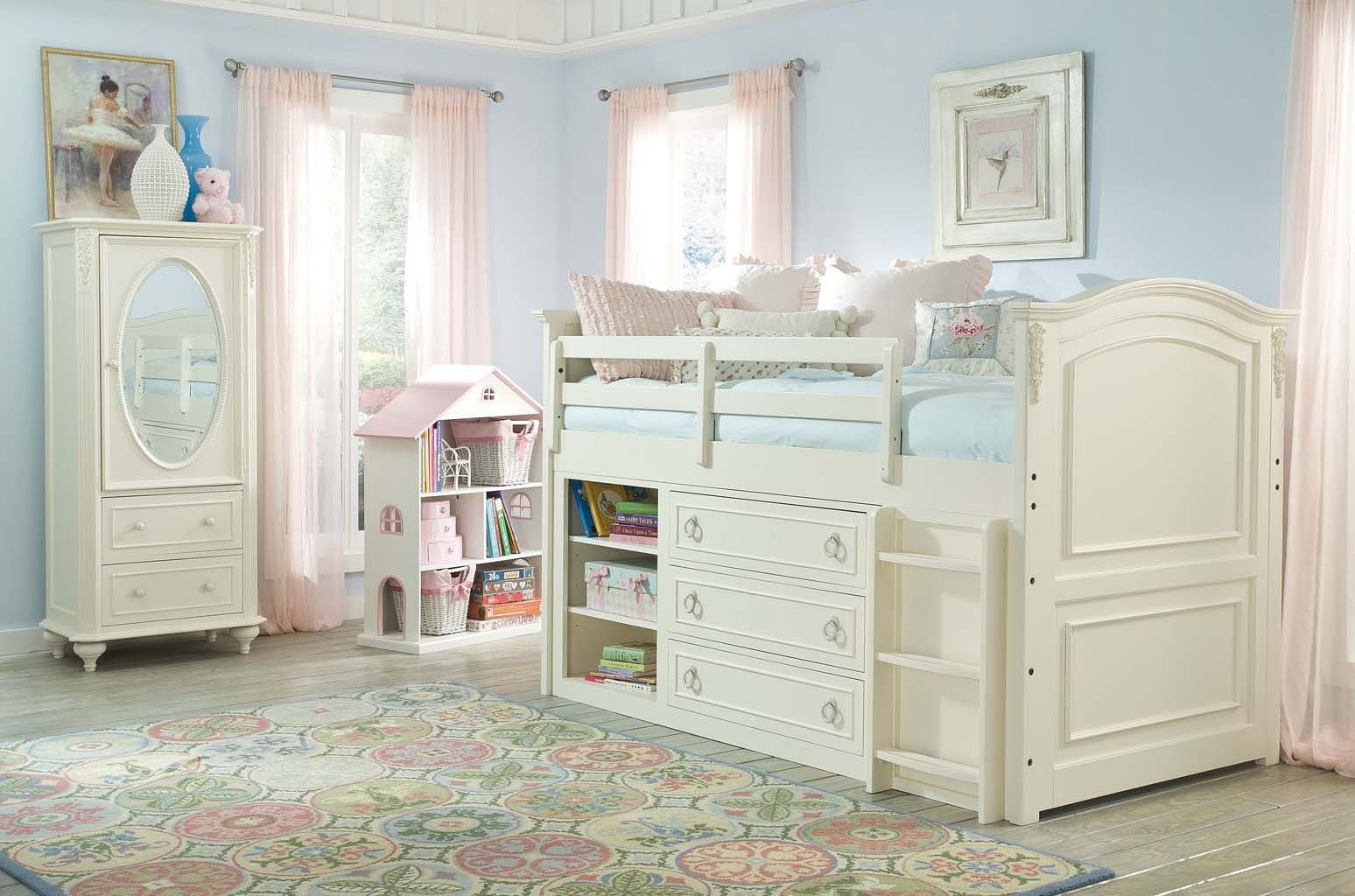 Classic Bedroom Escape Enchantment Mid Loft Bedroom Set