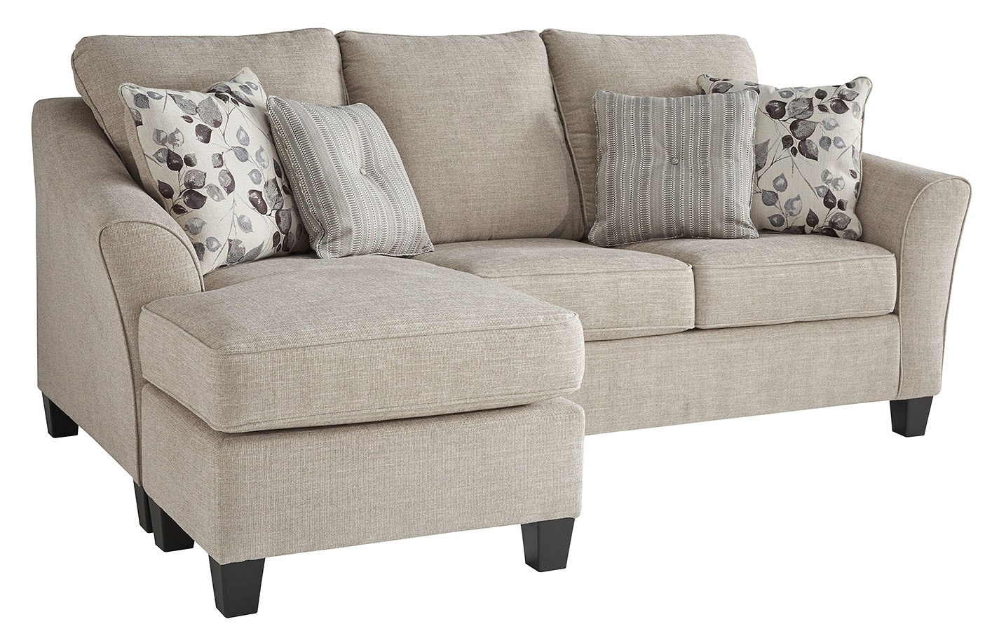 Sofa Queen Abney Driftwood Sofa Chaise Queen Sleeper