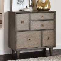 Weathered Grey Accent Cabinet Coaster Furniture ...