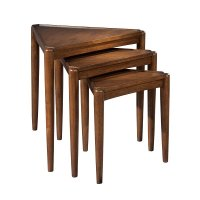 Mid Century Modern Nesting Tables Hekman | Furniture Cart