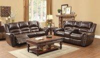 Center Hill Power Living Room Set (Dark Brown) Homelegance ...