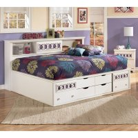 Zayley Bookcase Bed Signature Design, 2 Reviews ...