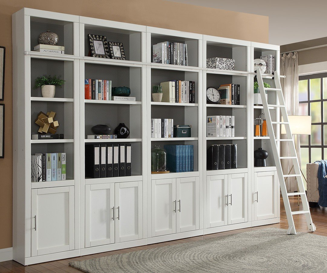 Bookshelves On Wall Catalina Modular Bookcase Wall Parker House 2 Reviews