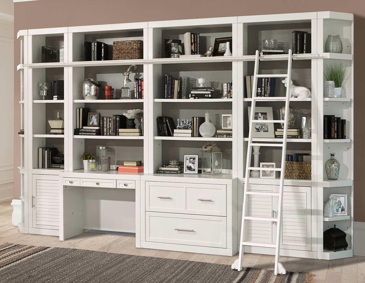 Home Office Library Catalina Modular Library Wall