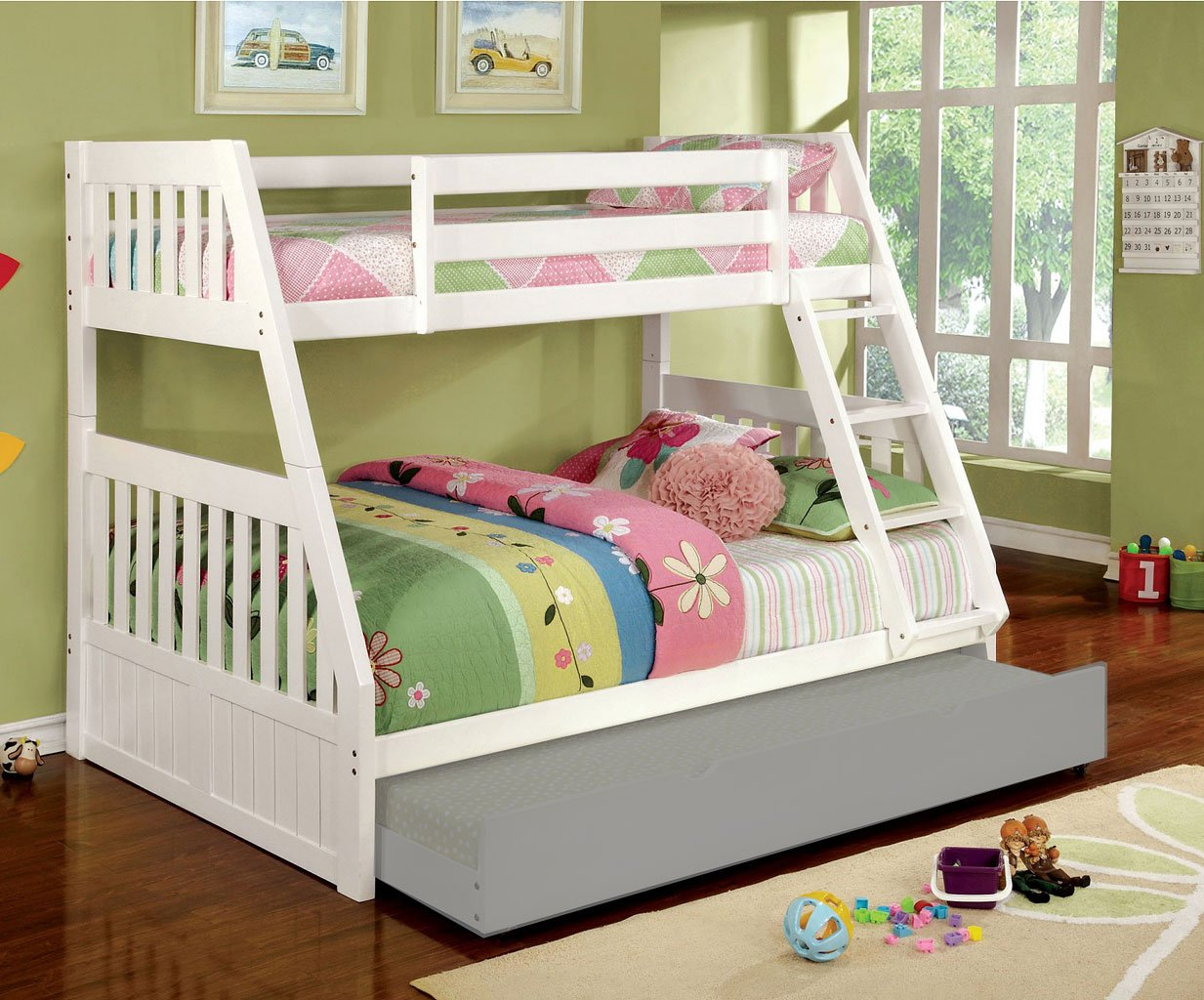 Furniture Stores Canberra Canberra Twin Full Bunk Bed White