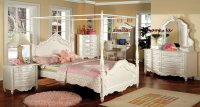 Victoria Youth Canopy Bedroom Set Furniture Of America ...