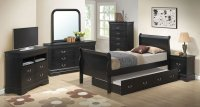 G3150 Youth Sleigh Bedroom Set W/ Trundle Glory Furniture ...