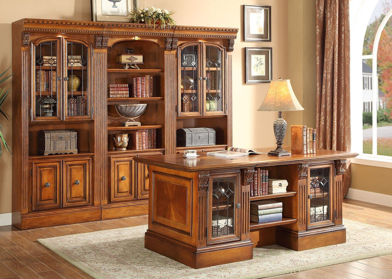 Huntington Home Products Huntington Executive Home Office Set Parker House