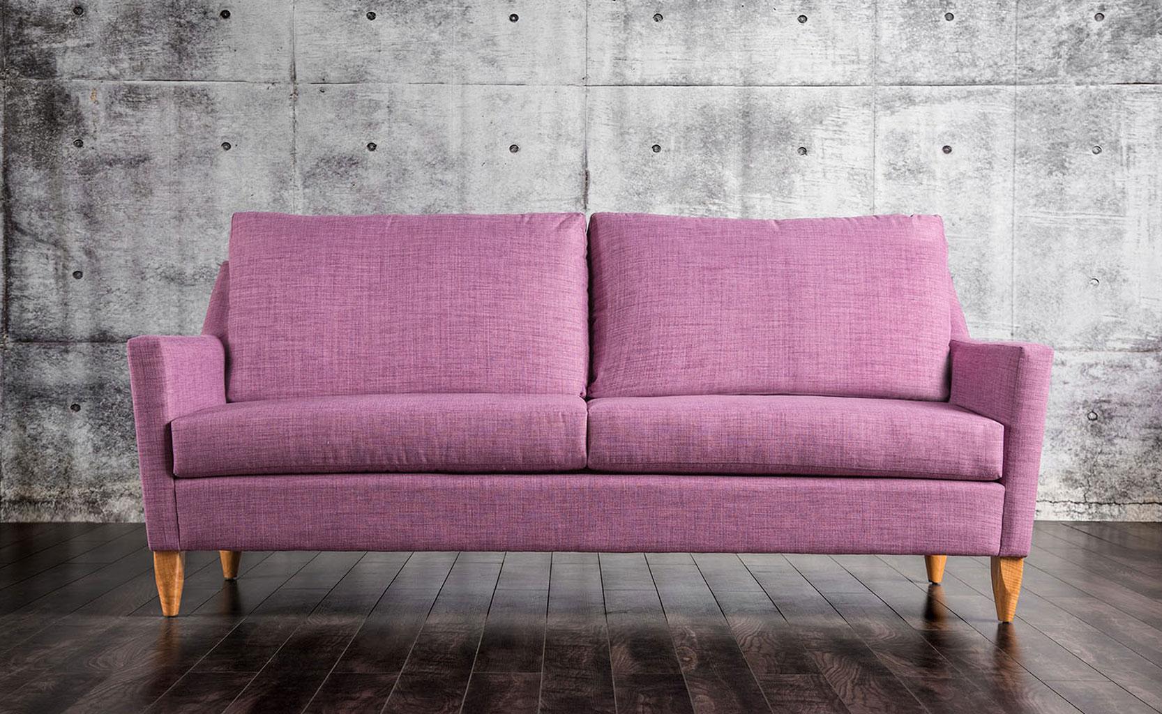Marilyn Sofa Purple Furniture Of America Furniture Cart