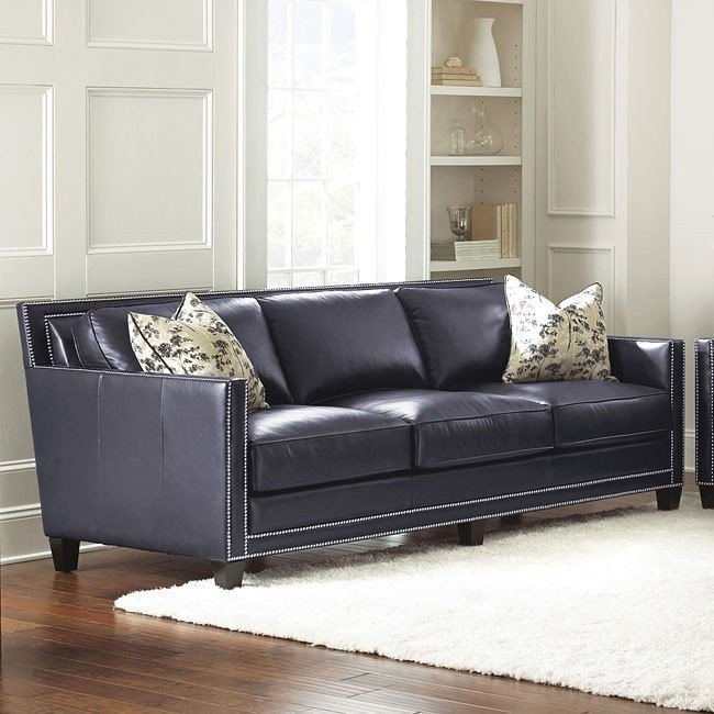 Hendrix Leather Sofa Steve Silver Furniture 1 Reviews