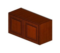 W3015B Sienna Rope Wall Cabinet