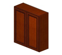 W3336B Sienna Rope Wall Cabinet