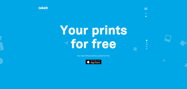 Take it   Free Polaroid prints from your iPhone.