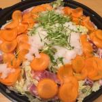 白菜豚バラ肉ミルフィーユみぞれ鍋の作り方