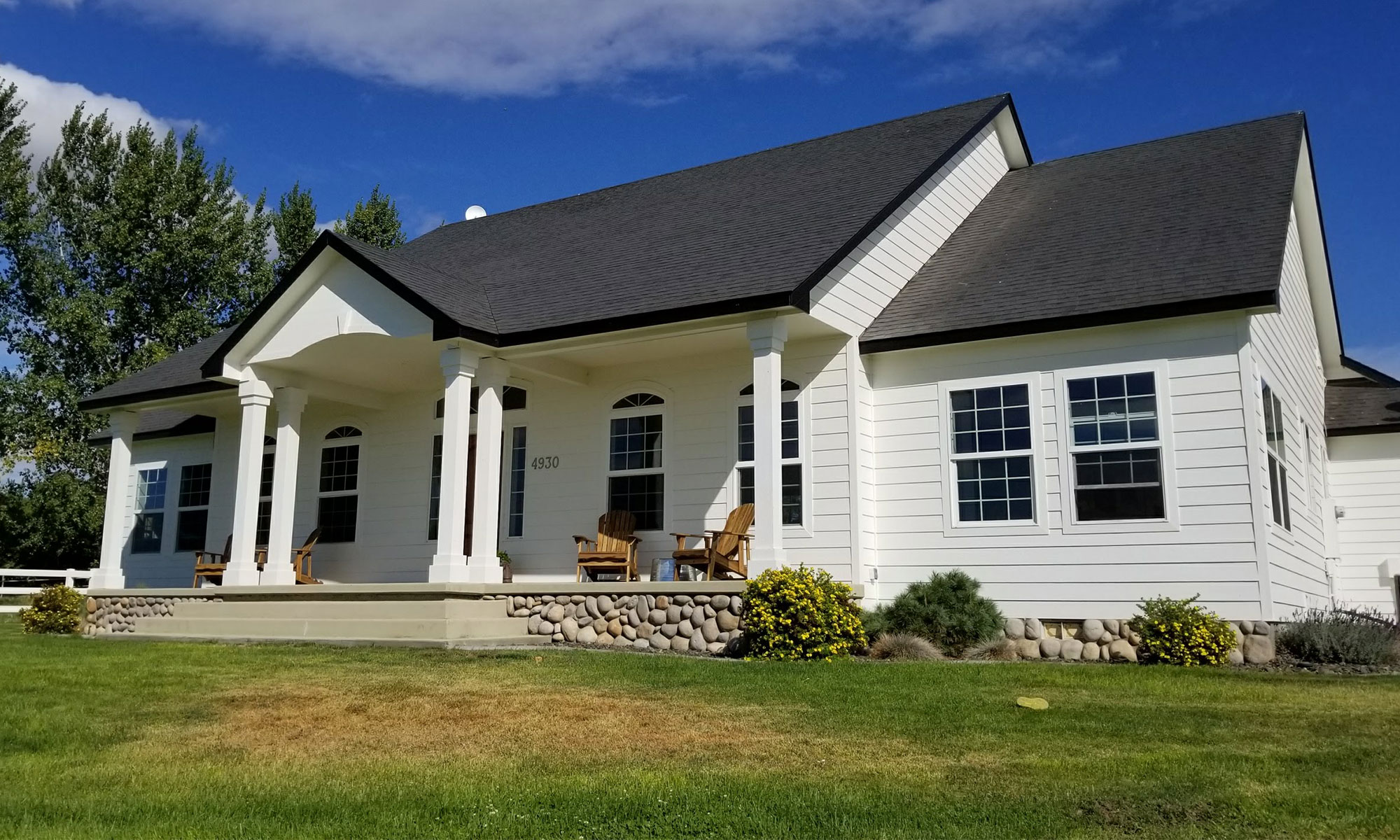 Residential Exterior Painting Brightens And Helps Protects Your Home