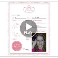 Free Tooth Fairy Certificate from Smilebox!