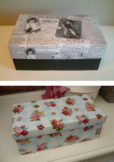 Reusing Old Shoe Boxes Smiles