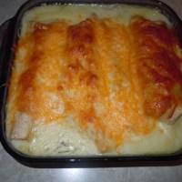 Best Cheesy White Chicken Enchiladas: Freezer Meal!