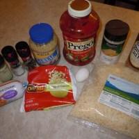 Freezer Meal: Chicken Parmesan Meatloaf