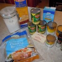 Freezer Meal: Chicken Pot Pie!