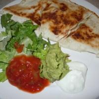 Freezer Meal: Cheesy Shrimp Quesadillas!