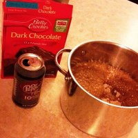 Brownie Magic! Oh the things a Diet Coke can do.