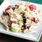 THE BEST Apple Cranberry Chicken Salad