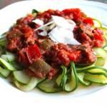 Crockpot Veggie-Packed Turkey Meat Sauce