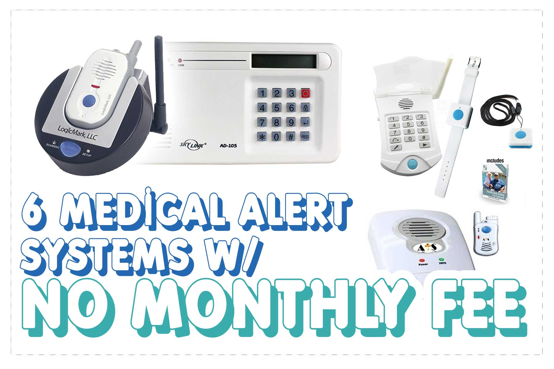Medical Alert Systems No Monthly Fee Top Picks Smilng Senior