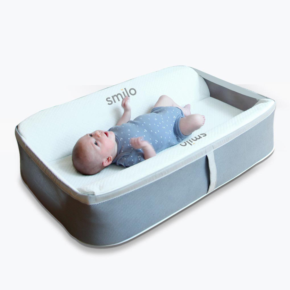 Baby Travel Mattress Baby Lounger Newborn Portable Cradle Smilo