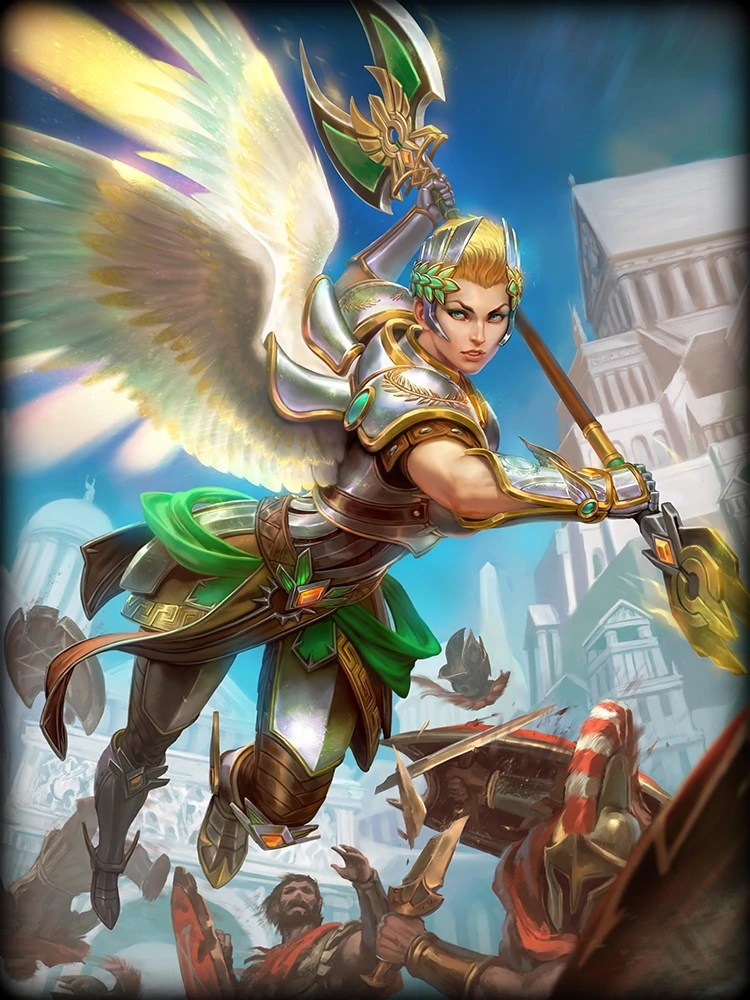 3d Wallpapers Of God And Goddess Nike Official Smite Wiki