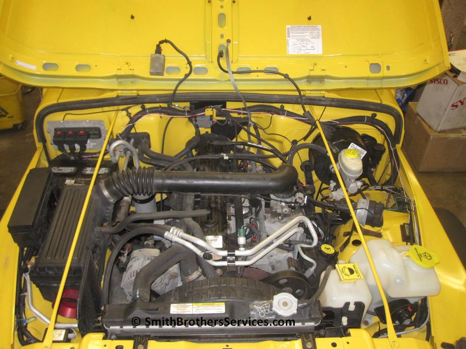 jeep wrangler wiring melted 2012
