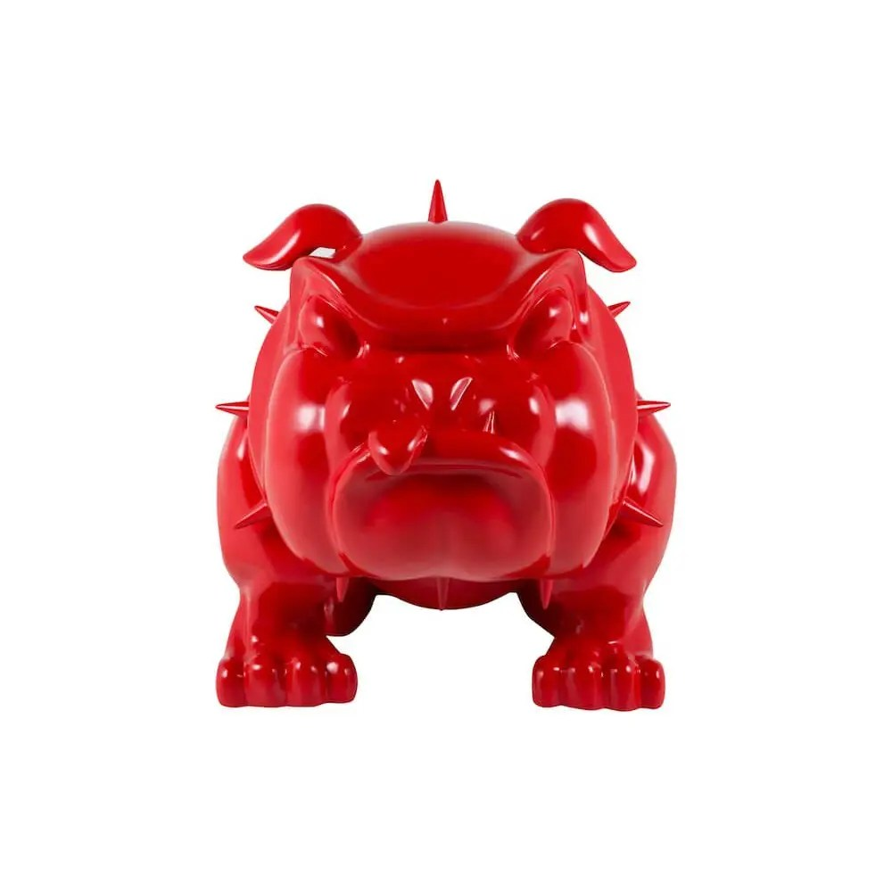 Vintage Lighting For Sale Life Size Bulldog Statue - The Red Devil Dog Ornament