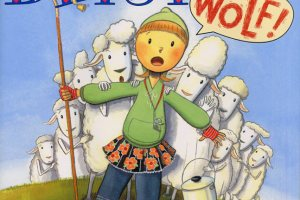 Betsy Who Cried Wolf! by Gail Carson Levine, illustrated by Scott Nash