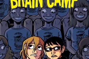 Brain Camp by Susan Kim and Laurence Klavan, art by Faith Erin Hicks, color by Hilary Sycamore