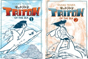 Triton of the Sea (vols. 1-2) by Osamu Tezuka, translated by Eugene Woodbury, edited by Eileen Tse