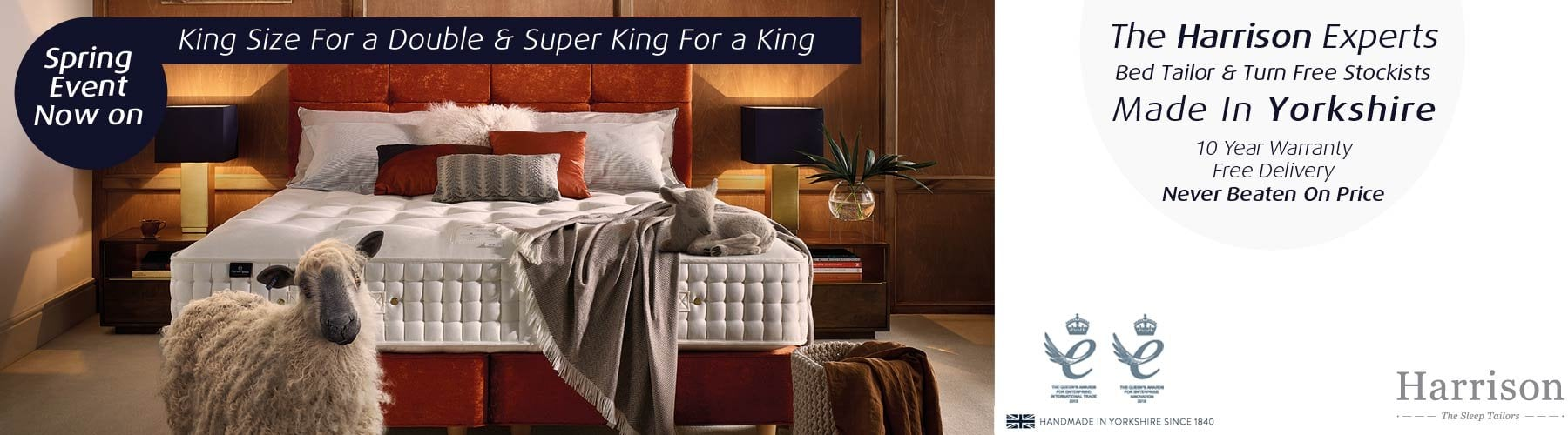 King Size Mattress Sale Uk Harrison Beds Mattresses At Smiths The Rink Harrogate