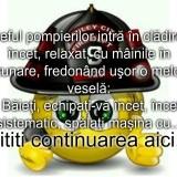 Bancul zilei :)) Pompierii si incendiul…