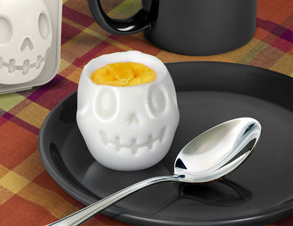 Gruseliges Halloween Frühstück