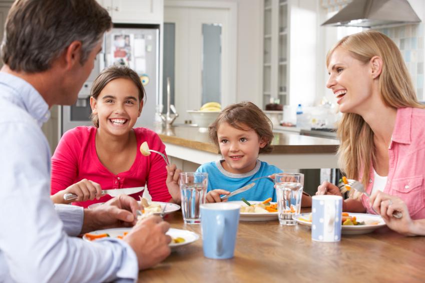 Die Küche als Treffpunkt für die ganze Familie