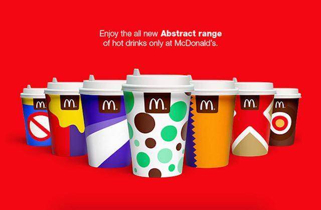 Redesign für McDonalds Becher