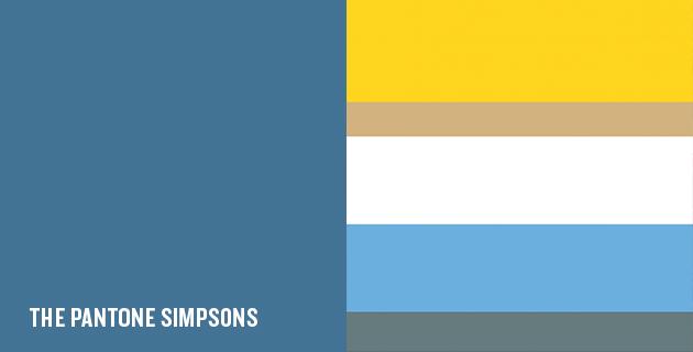 Die Simpsons Farben