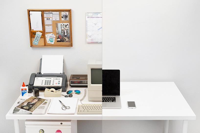 Evolution des Schreibtisches
