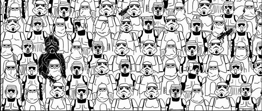 Finde den Panda – Star Wars Edition