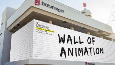 "ITFS 2016: ""Wall of Animation"" am Breuninger FlagshipStore in Stuttgart"