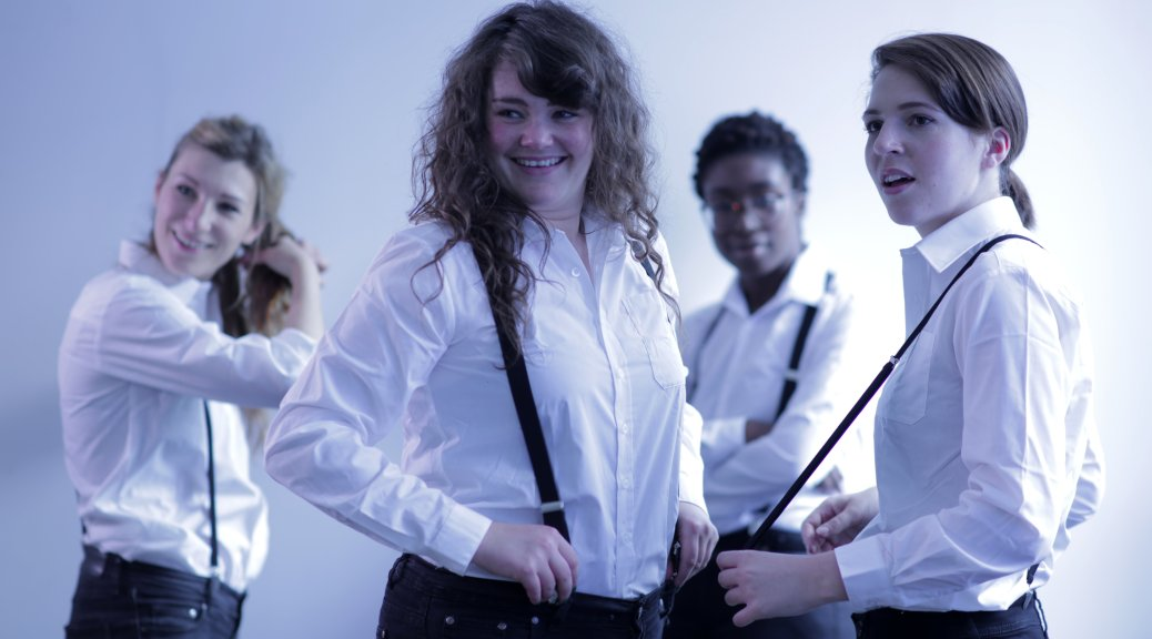 Fresh Faced Gentlemen - new additions to the all-female cast of Titus Andronicus