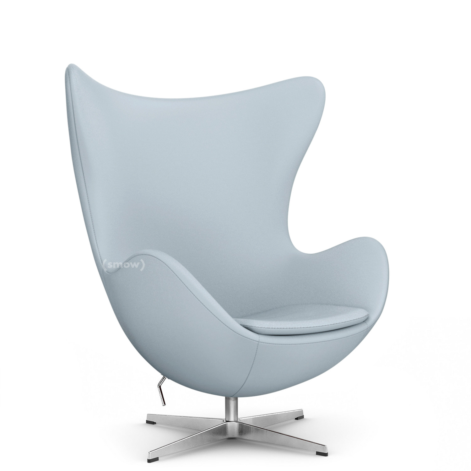Egg Lounge Sessel Fritz Hansen Egg Chair Divina Divina 171 Light Grey Without