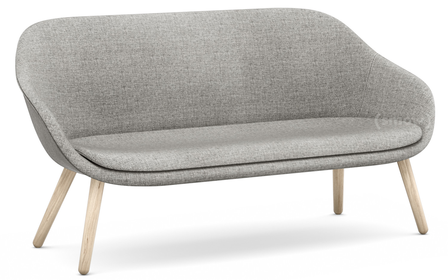 Lounge Sofa Grau Hay About A Lounge Sofa For Comwell Hallingdal 116 Warm Grey Soap Treated Oak