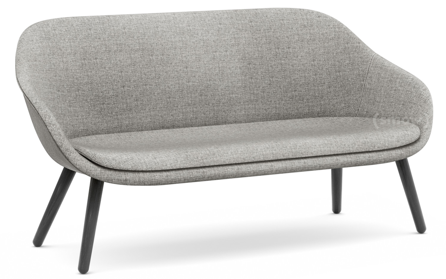 Lounge Sofa Grau Hay About A Lounge Sofa For Comwell Hallingdal 116 Warm Grey Black Stained Oak