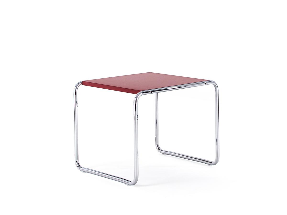Couchtisch Two Colour Knoll International Laccio Table Laccio 1 Small Laminate Red
